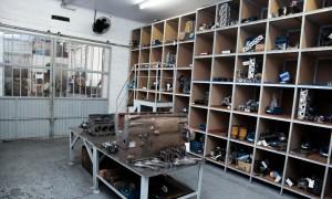 Sala de Montagem parcial